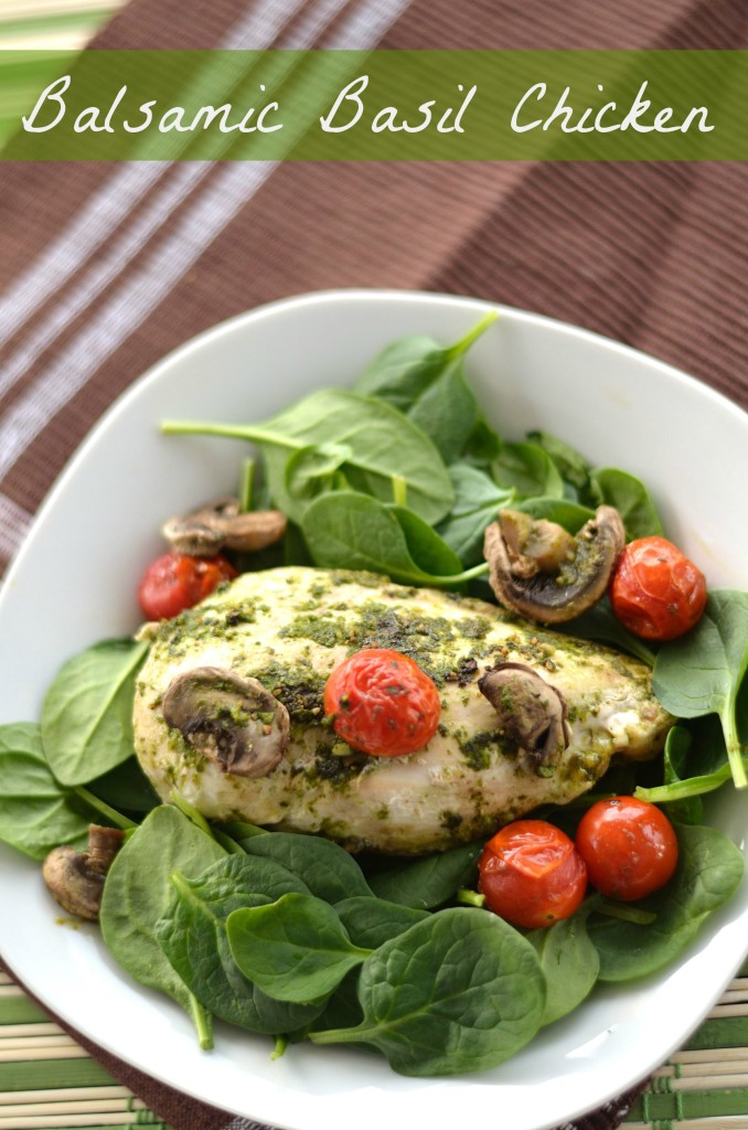 Balsamic Basil Chicken