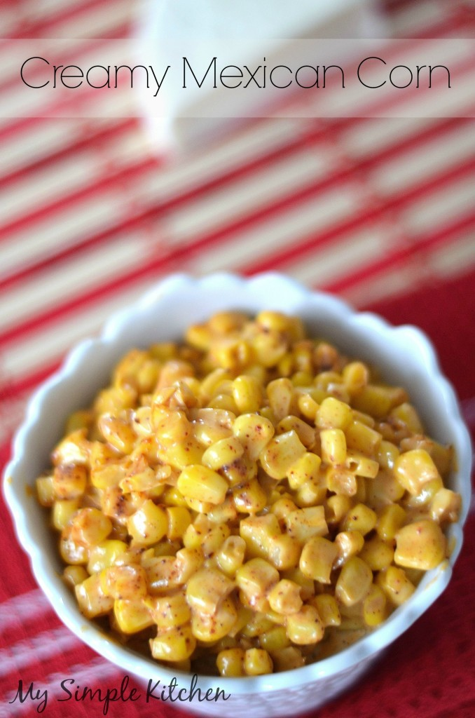 Creamy Mexican Corn