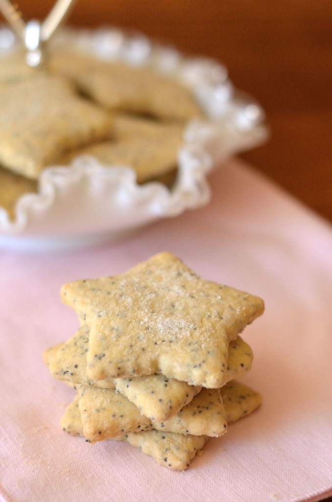 Almond Poppy Seed Cookies