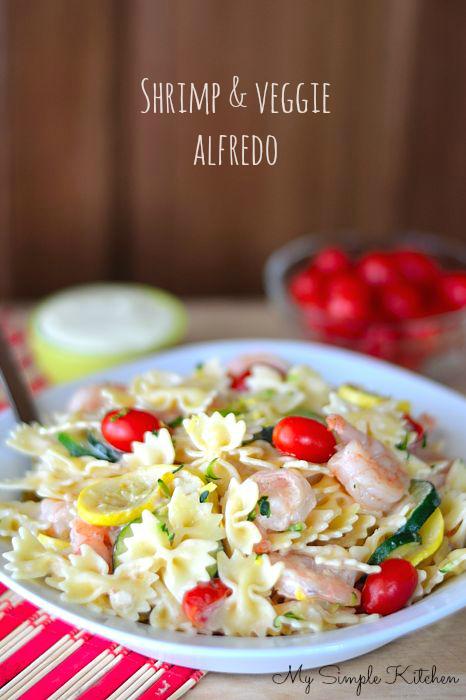 Veggie Alfredo Recipe — Dishmaps