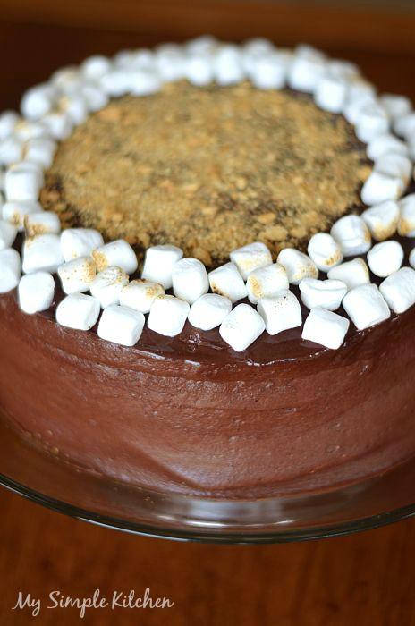 Smores Cake2