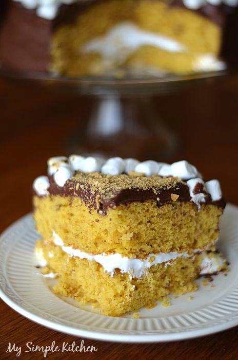 Smores Cake4