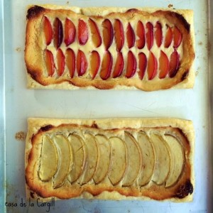 Fruit and Goat Cheese Tarts