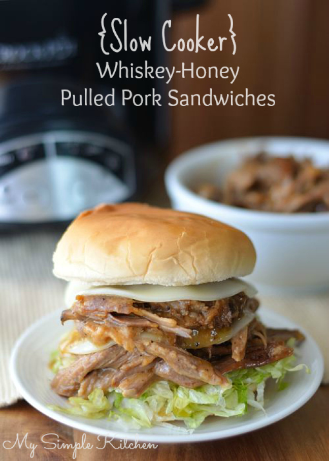 Slow-Cooker-Honey-Whiskey-Pork